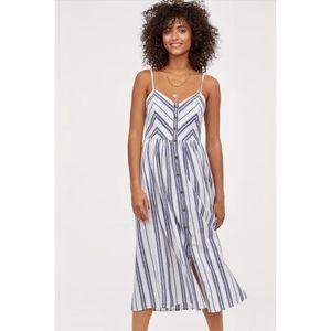 H&M breezy linen dress